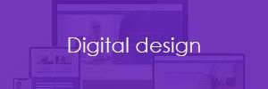 Digital design button