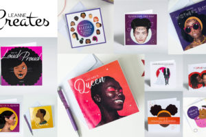 Leanne Creative blog header about Not Just a Card