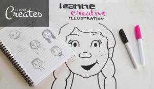 Leanne Creates illustration blog header